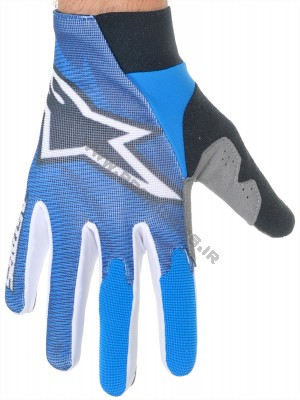 Alpinestars Aero Gloves Blue-White