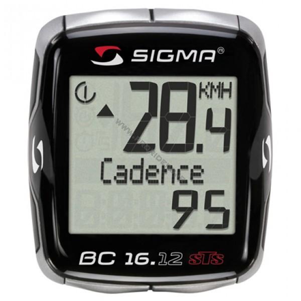 SIGMA BC 16.12 STS w/Wireless Cadence