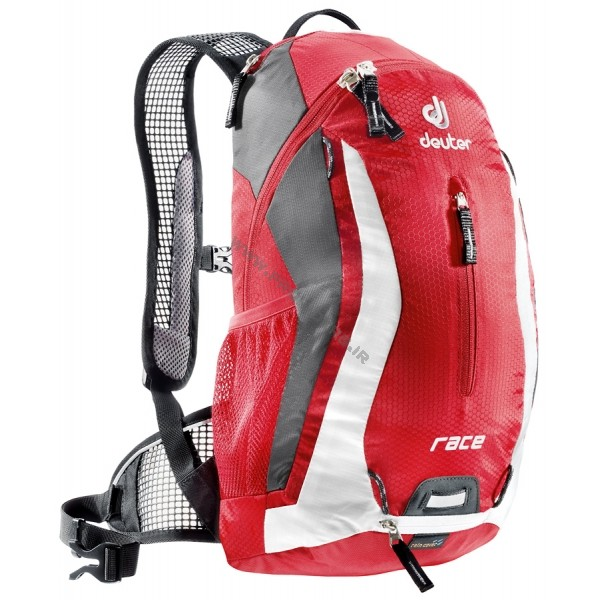 deuter race red-white
