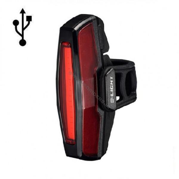 چراغ عقب D-Light 16 COB USB