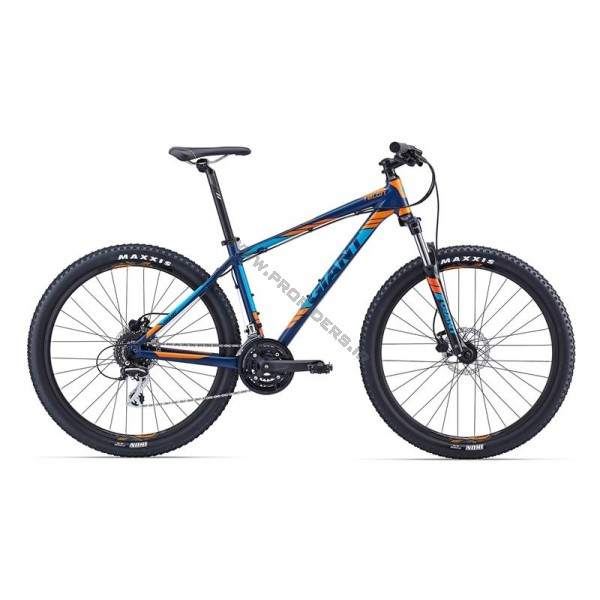 Giant TALON 27.5 4 2016 Dark Blue-Orange